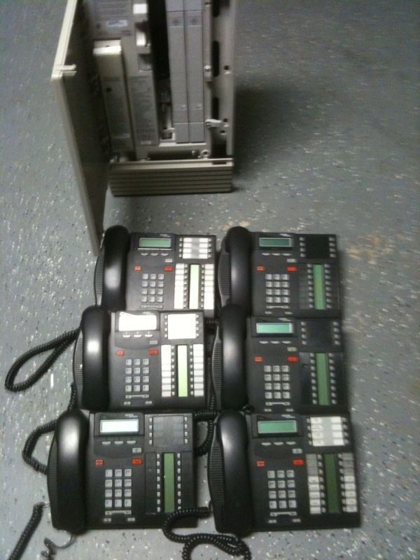 Nortel Norstar MICS Office Phone System Meridian T7316