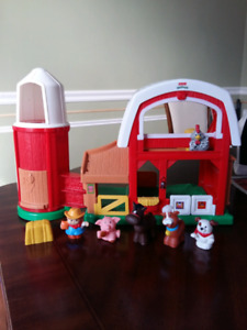 Fisher price little people farm/stable