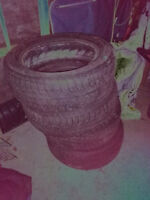 """Four 17"""" tires for sale"""
