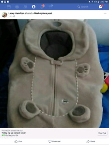 Teddy carseat cover