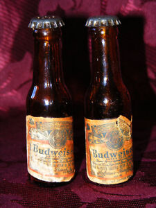 Budwiser Salt and Pepper Shakers