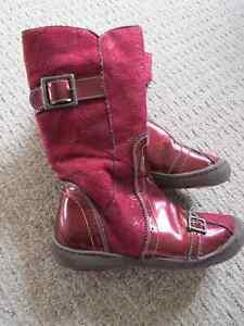 Girls Fashion Boots - size 11.5 (Euro 29) Kitchener / Waterloo Kitchener Area image 1