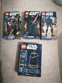 Star wars lego sets ( £15 each new)