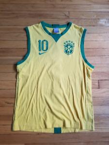 Nike Brazil World Cup 2018 soccer tank top