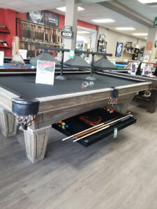 FREE Accessory Pack With Purchase of Pool Table!