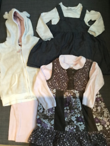 Fall/winter 9-12 months girl clothing lot