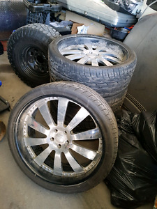 24 INCH RANGE ROVER SUPERCHARGED WHEELS