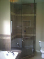 Shower doors installer