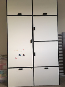 Ikea wardrobe - assembled (used) - in good condition - For Sale