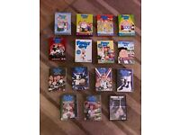 """Family guy box sets. Seasons 1 - 15. ( plus family guy """"blue harvest """" special edition)"""