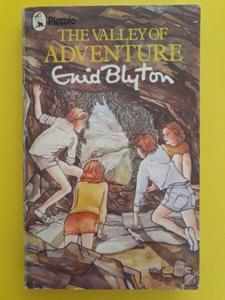 The Valley Of Adventure - Enid Blyton - Adventure #3.