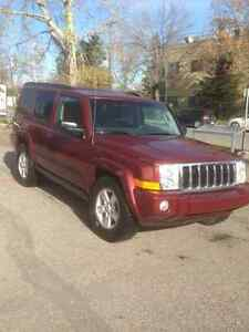 2008 Jeep Commander leather SUV, Crossover