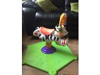 Bounce and spin zebra £10