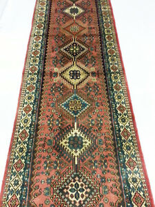 TAPIS PERSAN COUREUR , HAND MADE PERSIAN RUNNER RUG , CARPET
