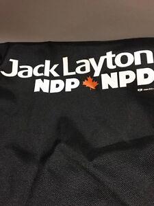 JACK LAYTON NDP Black Messenger Bag