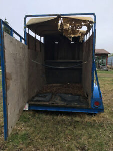 Free Horse/Stock Trailer