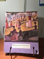 Moments littéraires French book