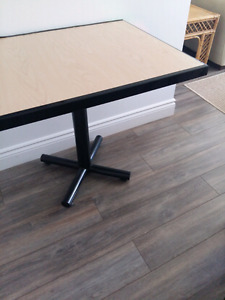 Small solid table