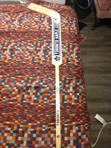 Signed leafs goalie stick