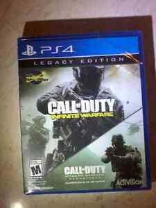 NEVER OPENED Call of Duty Infinite Warefare Legacy Edition PS4
