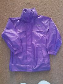 Purple Trespass 'Pack Away' Coat