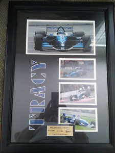 Paul Tracy Display Frame