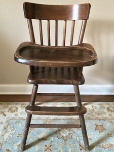 Looking for vintage high chair