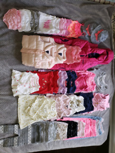 Baby girl twins clothes EVERYTHING DOUBLE