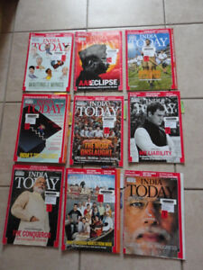 LOT OF ASSORTED INDIA TODAY MAGAZINES