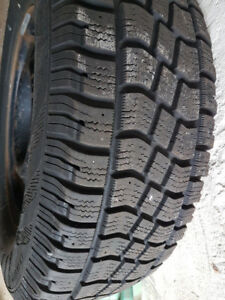 245/70R17 Avalanche X-treme WINTER TIRES MOUNTED ON RIM 5x114.3