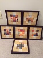 Set of 6 Decorative Pictures