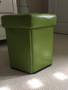 Designer Laundry Hamper - Green Color