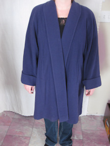 WOOL AND CASHMERE MALLIA SWING COAT