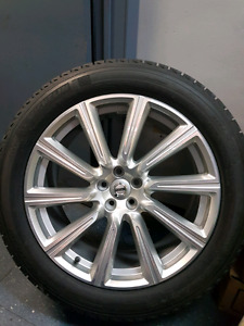 VOLVO XC90 OEM 20 INCH RIM AND TIRE NEW (1 ONLY)