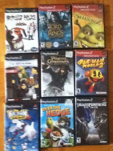 9 ps2 games for 20$