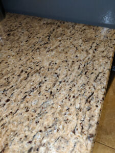 """Beautiful 18"""" x 55"""" Granite Piece.  Asking $450 or best offer."""
