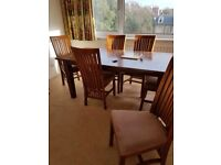 Large table extending