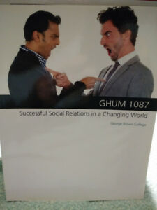 GHUM 1087 Successful Social Relations in a Changing World