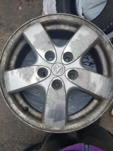 rims set of 4 plus 2 tires