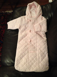 Tommy Hilfiger Pink Snowsuit Bunting - PRICE LOWERED