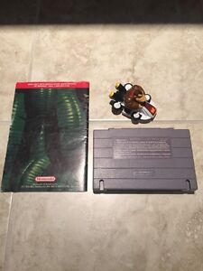 Donkey Kong Country and instructions manual snes Kitchener / Waterloo Kitchener Area image 2