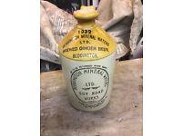 1932 Beddington Stoneware Ginger Beer jar