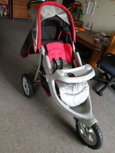 Graco jogger stroller Kitchener / Waterloo Kitchener Area image 1
