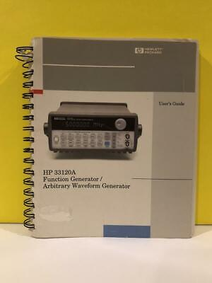 Hp 33120-90005 33120a Functionarbitrary Waveform Generator Users Guide