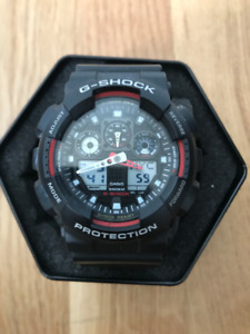 Casio G Shock GA100 - World Time