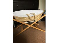 Moses Basket by John Lewis - Used - Chiswick - £10
