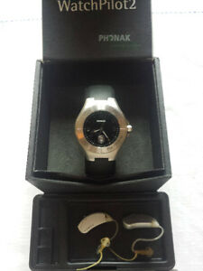 Verve Hearing Aid System Phonak Watch Pilot 2 Remote Control Kitchener / Waterloo Kitchener Area image 5