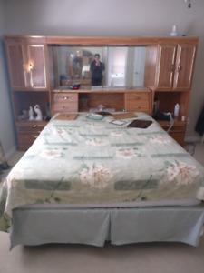 Bedroom set with dresser
