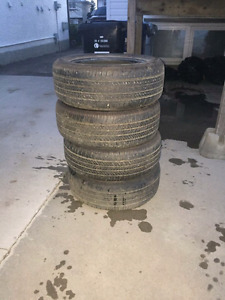 4 bridgestone all season tires P205/55R16