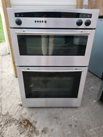 Neff U1421N0GB double electric oven built in 60cm